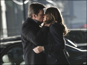 Castle and Beckett Kiss Knockdown