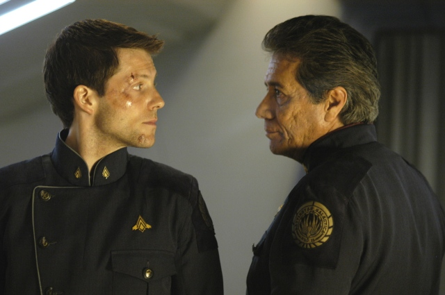 battlestar-galactica-william-lee-adama-edward-james-olmos and jamie bamber
