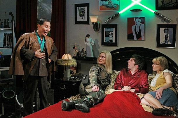 Big Bang Theory George Takei Katee Sackhoff Starbuck Battlestar Galactica