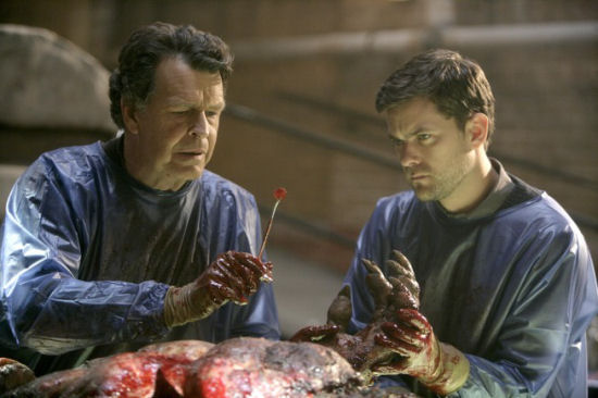 Fringe Walter and Peter Bishop John Noble Joshua Jackson