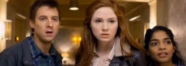 Doctor Who The God Complex Amy Pond, Rory Williams, Rita