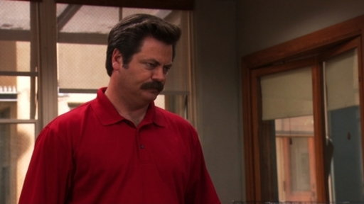 ron swanson lucky parks and recreation