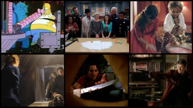 halloween tv - castle, buffy the vampire slayer, pushing daisies, community, the simpsons