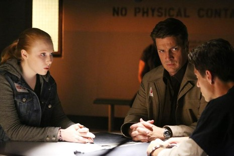 "CASTLE - ""Like Father, Like Daughter"" -- Alexis enlists Castle's"