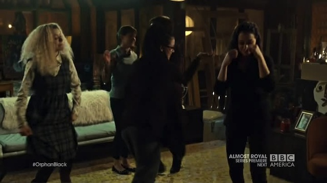 Orphan Black Clone Club Dance Party