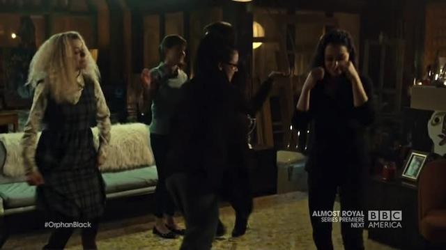 Orphan Black Clone Club Dance Party