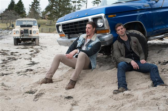 "Lucas Bryant and Eric Balfour in Haven ""Speak No Evil"""