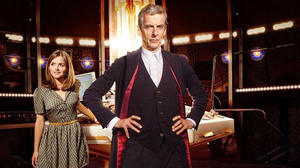 Doctor Who Season 8 Peter Capaldi Jenna Coleman (Clara Oswald)