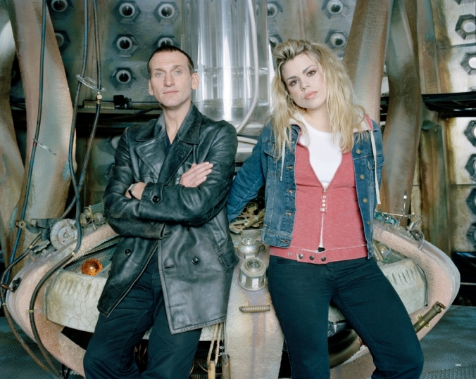 TELEVISION PROGRAMME:  DOCTOR WHO. Pic shows:-  Christopher Eccleston and Billie Piper