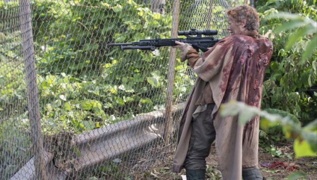 Carol Peletier (Melissa McBridge) The Walking Dead No Sanctuary Photo by Gene Page/AMC