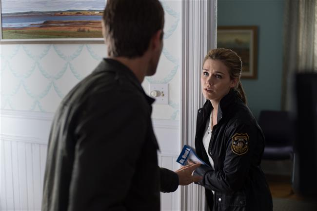 "Lucas Bryant and Emily Rose in Haven ""The Old Switcheroo"""