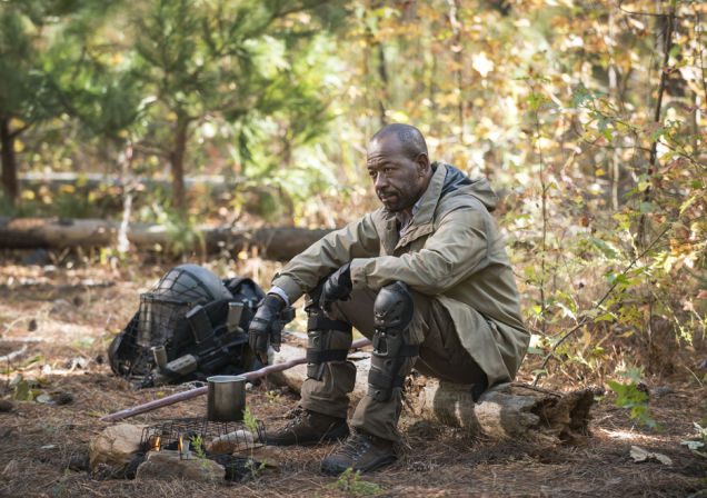 Morgan (Lennie James) in Episode 16  Photo by Gene Page/AMC