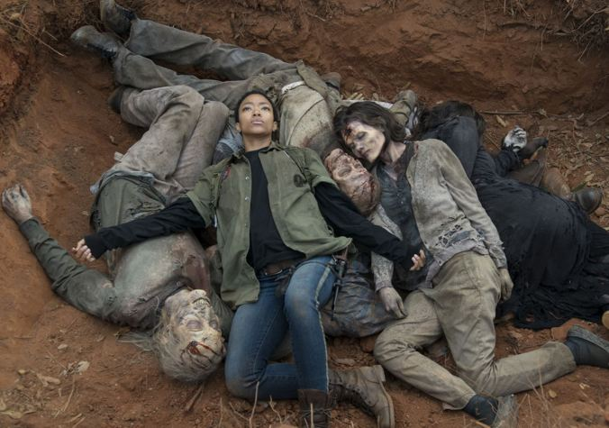 Sasha (Sonequa Martin-Green) in Episode 16 Photo by Gene Page/AMC