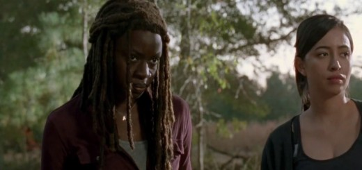 the-walking-dead-season-5-episode try- michonne and rosita